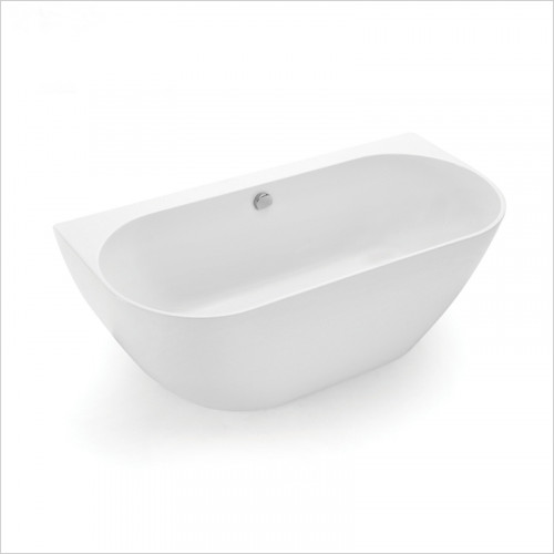Waters Baths of Ashbourne - Baths - Natura Loche Back To Wall Bath 1660 x 580 x 800mm