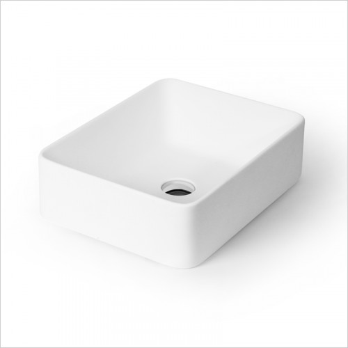 Waters Baths of Ashbourne - Basins - Botanics Hydra M/Stone Counter Top Basin Rectangular
