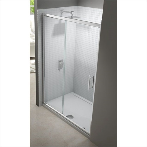 Merlyn - Showers - 6 Series Sliding Door 1400mm Incl MStone Tray
