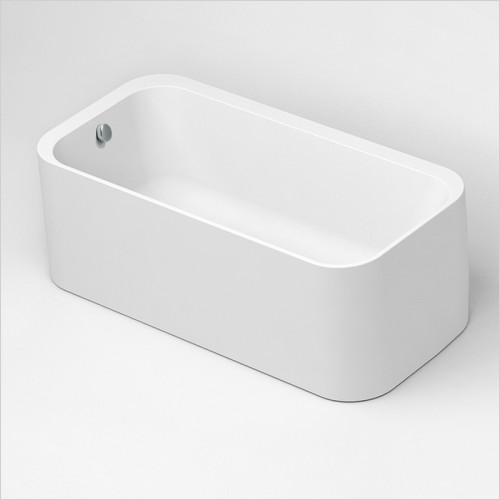Waters Baths of Ashbourne - Baths - I-Line Lake2 Offset Freestanding Bath 1655 x 580 x 795mm