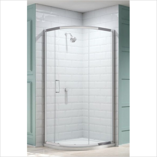 Merlyn - Showers - 8 Series 1 Door Quad 900mm Incl MStone Tray
