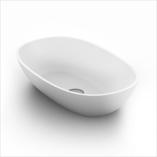 Waters Baths of Ashbourne - Basins - Elements Dawn Stone Basin 550 x 350 x 125mm