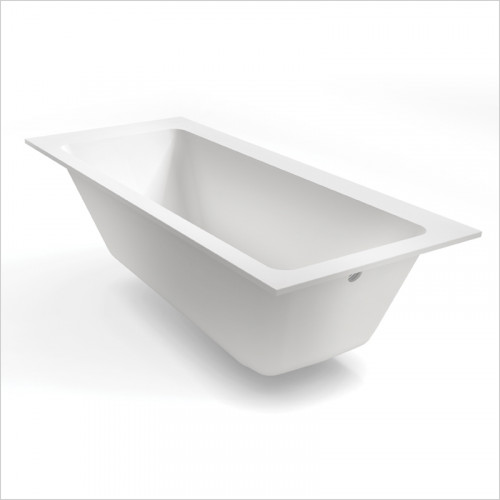 Waters Baths of Ashbourne - Baths - Botanics Hydra Single Built In Bath Tub 1800 x 800mm