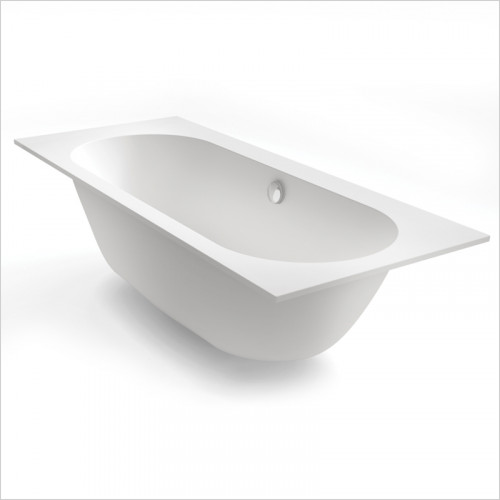 Waters Baths of Ashbourne - Baths - Botanics Oasis Double Built In Bath Tub 1800 x 580 x 800mm
