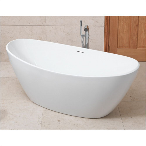 Waters Baths of Ashbourne - Baths - I-Line - 20mm Edge Spa - 1540mm Freestanding Bath