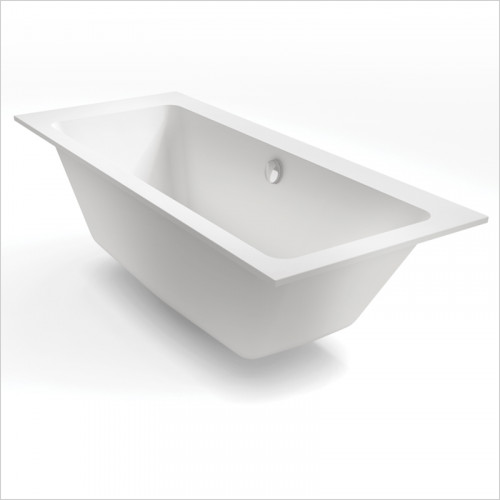 Waters Baths of Ashbourne - Baths - Botanics Hydra Double Built In Bath Tub 1700 x 750mm