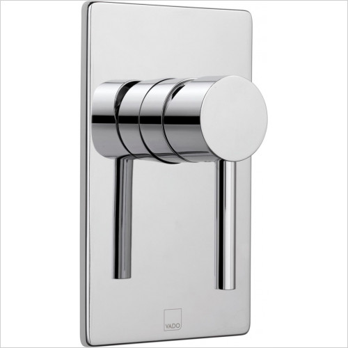 Vado - Showers - Zoo Square Concealed Manual Valve Single Lever