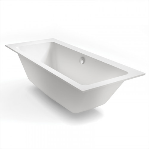 Waters Baths of Ashbourne - Baths - Botanics Hydra Double Built In Bath Tub 1800 x 800mm