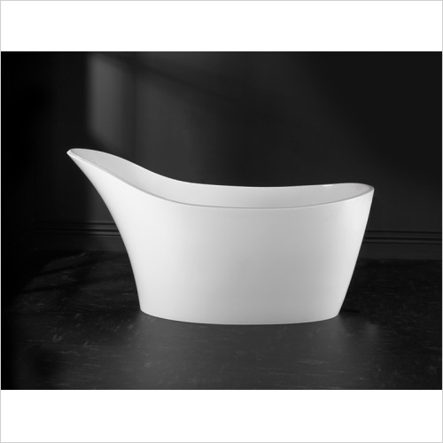 Victoria & Albert - Baths - Amalfi Freestanding Slipper Bath - Quarrycast White