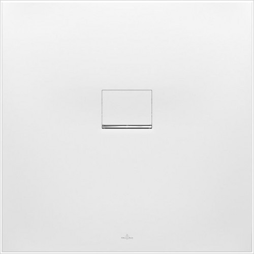 Villeroy & Boch - Showers - Squaro Infinity Corner Left Against Wall 800 x 800 x 40mm