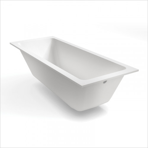 Waters Baths of Ashbourne - Baths - Botanics Hydra Single Built In Bath Tub 1700 x 750mm
