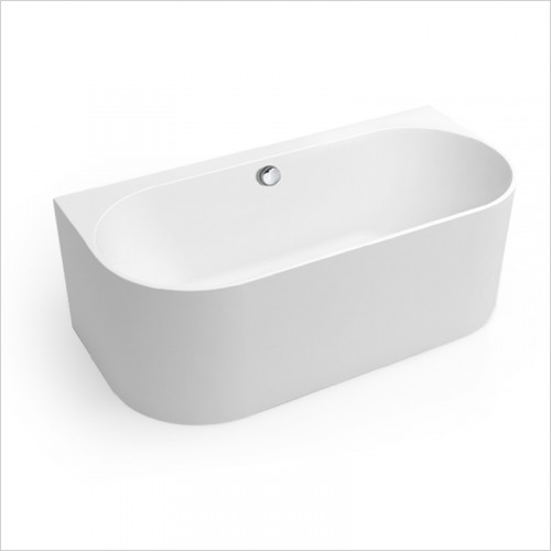 Waters Baths of Ashbourne - Baths - Natura Strait Back To Wall Bath 1660 x 580 x 790mm