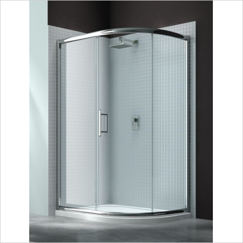 Merlyn - Showers - 6 Series 1 Door Offset Quad 1200 x 800mm Incl Tray RH