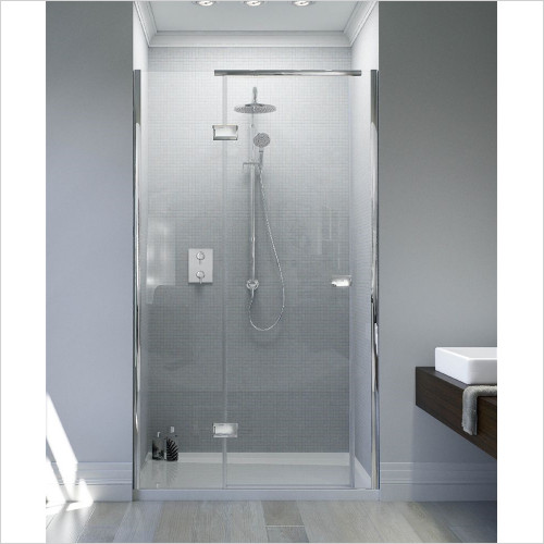 Matki - Showers - Illusion Recess & Raised Tray 1000 x 800mm LH GG