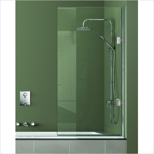 Matki - Showers - Single Bath Screen 800mm RH GG