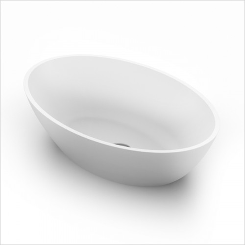 Waters Baths of Ashbourne - Basins - Elements Ellipse Stone Basin 550 x 350 x 125mm