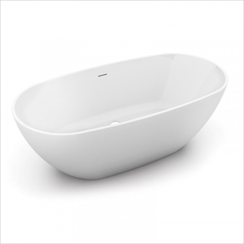 Waters Baths of Ashbourne - Baths - I-Line Brook2 Freestanding Bath 1660 x 580 x 820mm