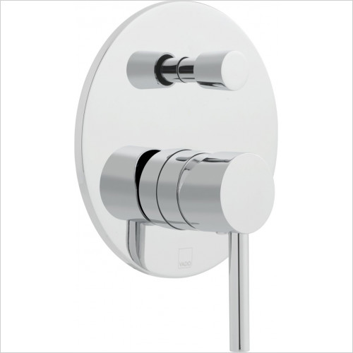 Vado - Showers - Zoo Round Concealed Single Lever Manual Valve & Diverter
