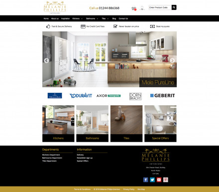 Melanie Philips Interiors Website Launched
