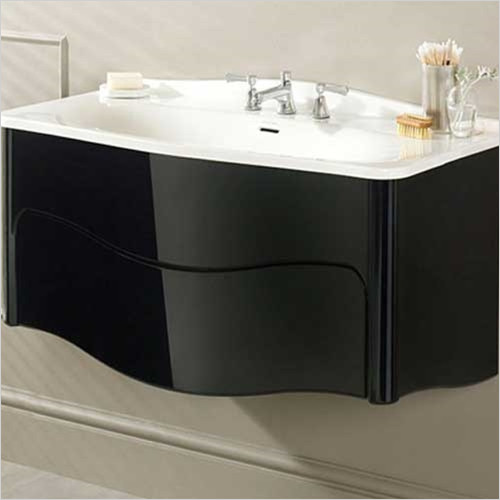 Victoria & Albert - Bathroom Furniture - Mandello 114 Wall Mounted Vanity Basin Without Legs