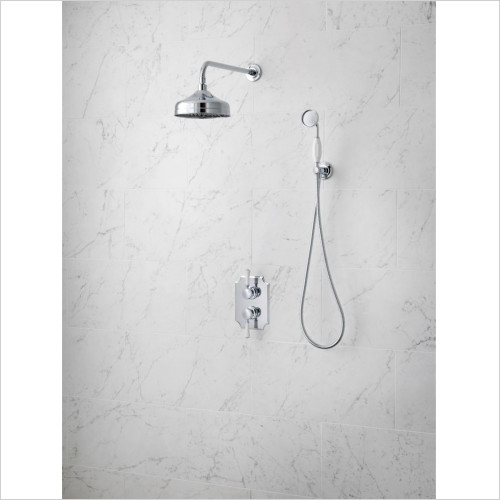 Victoria + Albert - Wall Mounted Fixed Shower Head And Arm