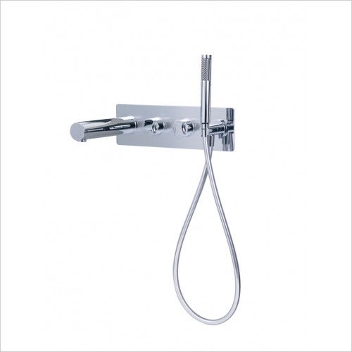 Victoria & Albert - Baths - Wall Mounted Bath Mixer With Handheld Shower Attachment