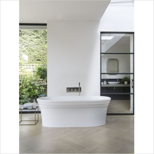 Victoria + Albert - Warndon Freestanding Bath, No Overflow