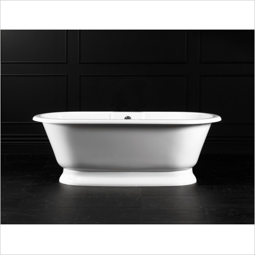 Victoria + Albert - York Freestanding Bath With Overflow, Quarrycast Base