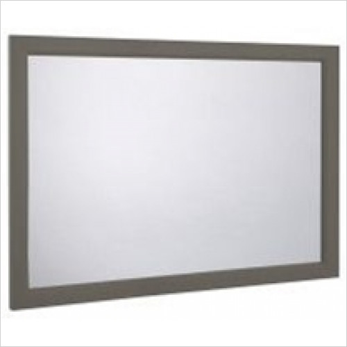 Roper Rhodes - Bathroom Furniture - Hampton 1200mm Plain Mirror - Pewter