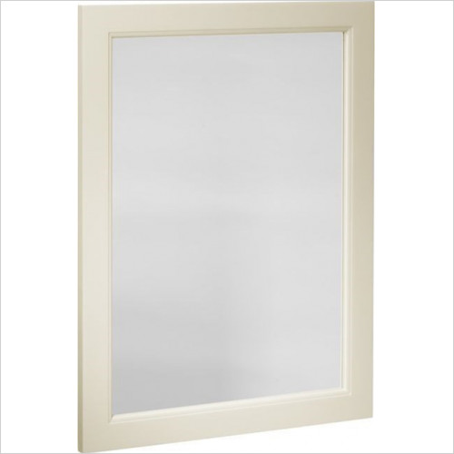 Roper Rhodes - Bathroom Furniture - Hampton 570 x 800mm Plain Mirror - Vanilla