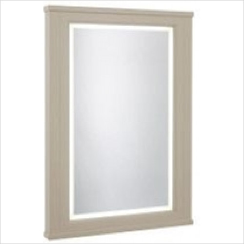 Roper Rhodes - Bathroom Furniture - Hampton 600mm Illuminated Mirror - Mocha