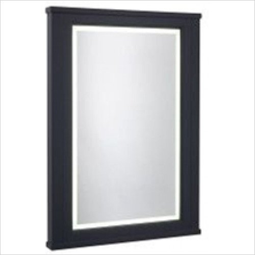 Roper Rhodes - Bathroom Furniture - Hampton 600mm Illuminated Mirror - Slate Grey