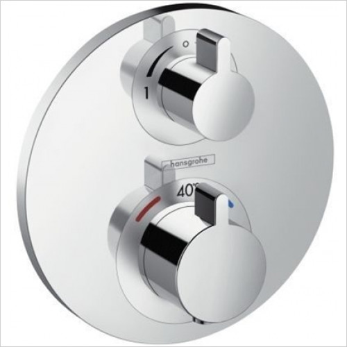 Hansgrohe - Showers - Ecostat S Thermostat Concealed 2 Outlets