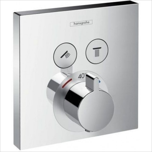 Hansgrohe - Showers - ShowerSelect Thermostat - 2 Outlets