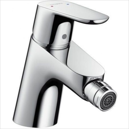 Hansgrohe - Sanitryware - Focus E 2 Single Lever Bidet Mixer With Push-Open Waste Set