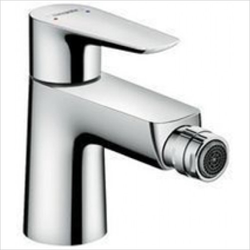 Hansgrohe - Sanitryware - Talis E Single Lever Bidet Mixer, Pop-Up Waste