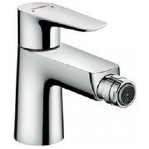 Hansgrohe - Sanitryware - Talis E Single Lever Bidet Mixer With Push-Open Waste