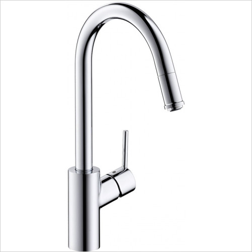 Hansgrohe - Kitchens - M5214-H260 Single Lever Kitchen Mixer With Pull-Out Spout