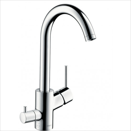 Hansgrohe - Kitchens - M524-H270 Single Lever Kitchen Mixer, Device Shut-Off Valve