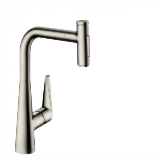 Hansgrohe - Kitchens - M5117-H300 - Single Lever Kitchen Mixer With Pull-Out Spray