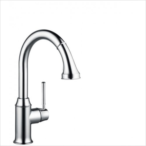 Hansgrohe - Kitchens - M5316-H240 Single Lever Kitchen Mixer With Pull-Out Spray