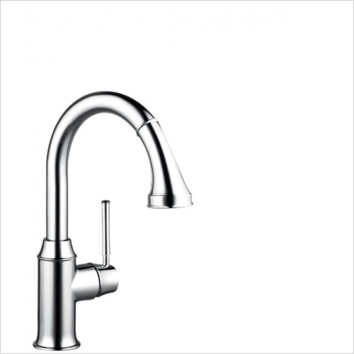 Hansgrohe - Kitchens - M5316-H210 Single Lever Kitchen Mixer With Pull-Out Spray