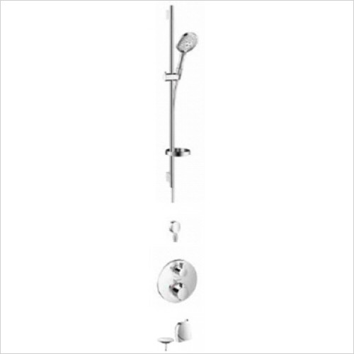 Hansgrohe - Showers - Round Valve With Raindance Select Rail Kit & Exafill
