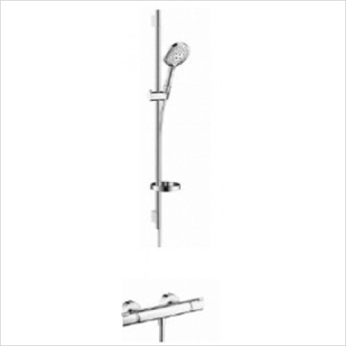 Hansgrohe - Showers - Exposed Valve With Raindance Select Rail Kit