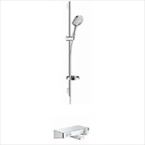 Hansgrohe - Showers - Exposed Select Bath / Shower Valve With Raindance Rail Kit