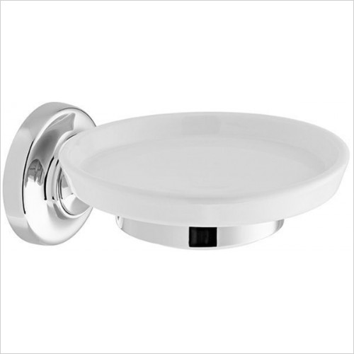 Vado - Accessories - Axbridge Ceramic Soap Dish & Holder