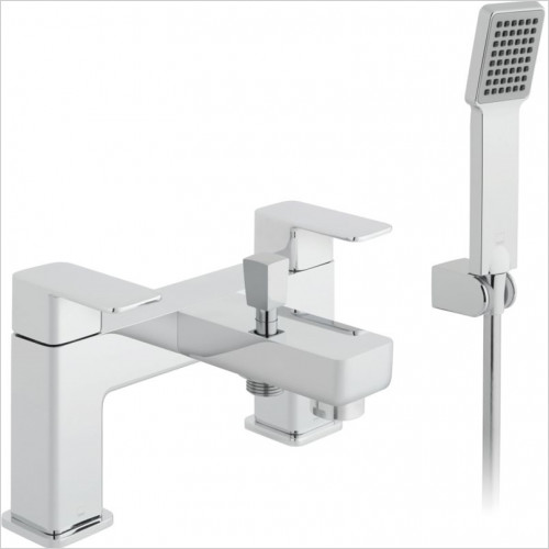 Vado - Baths - Phase 2 Hole Bath Shower Mixer Single Lever Deck Mounted