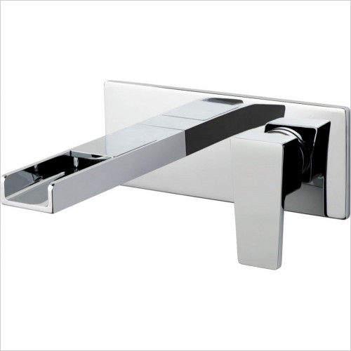 Vado - Basins - Synergie 2 Hole Basin Mixer Single Lever Wall Mounted