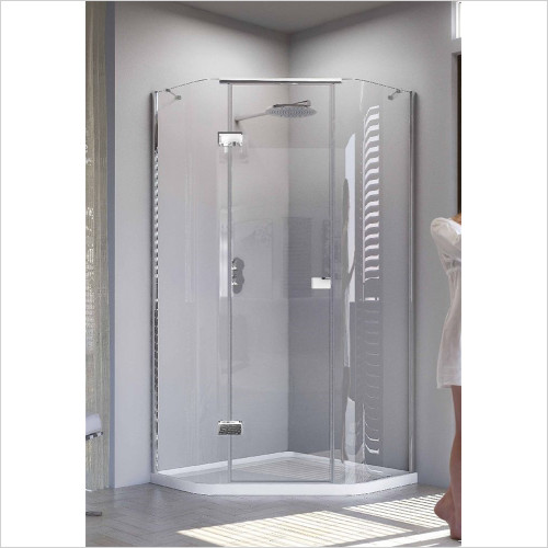 Matki - Showers - Illusion Quintesse & Tray 1000mm LH GG