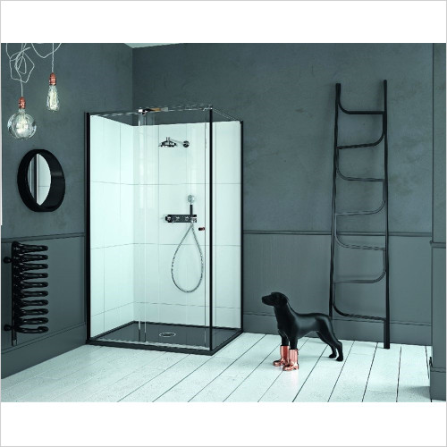 Matki - Showers - Matki One Sliding Side Panel 900mm